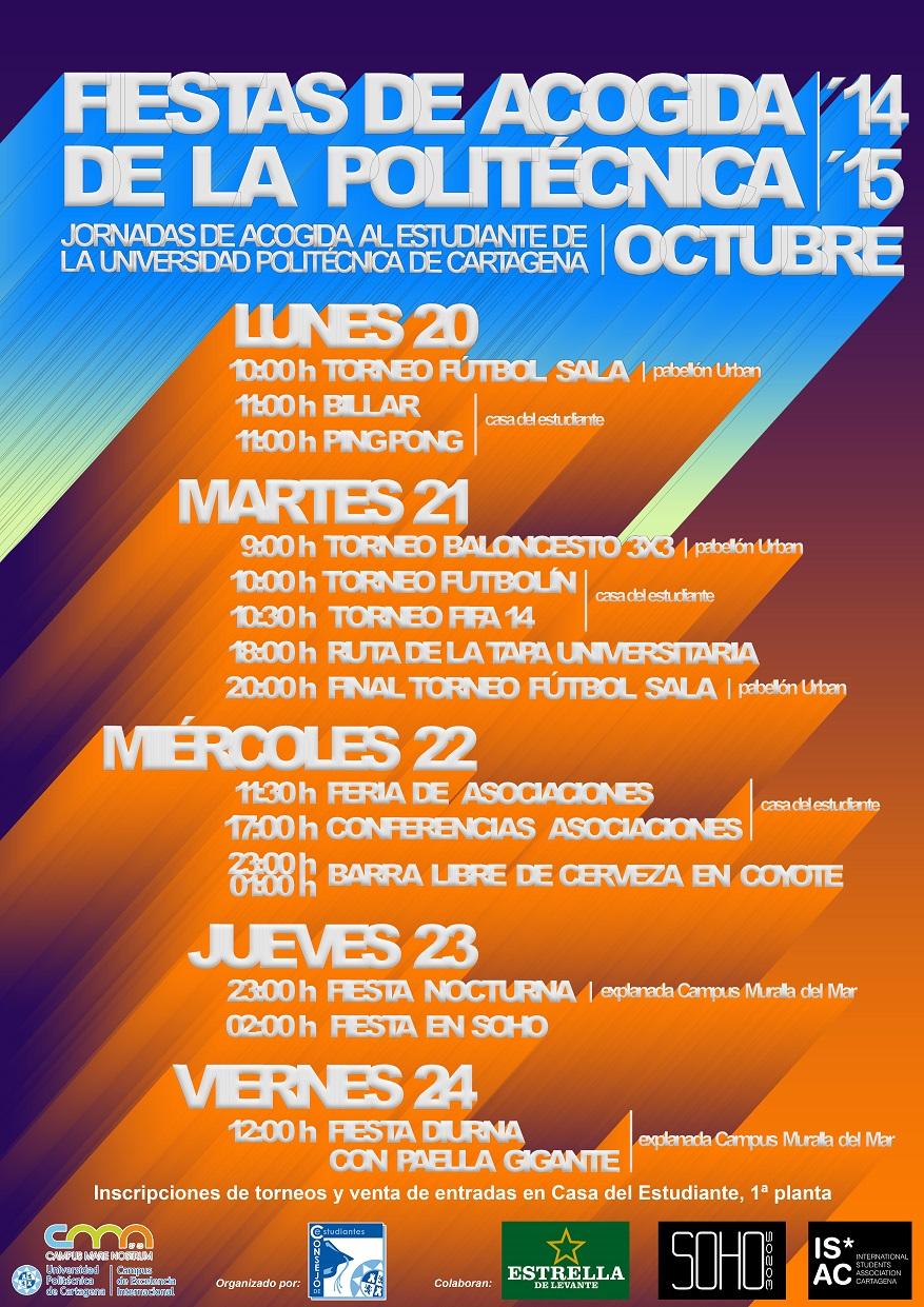Venta De Entradas E Inscripciones En Torneos. Fiestas De Acogida 2014