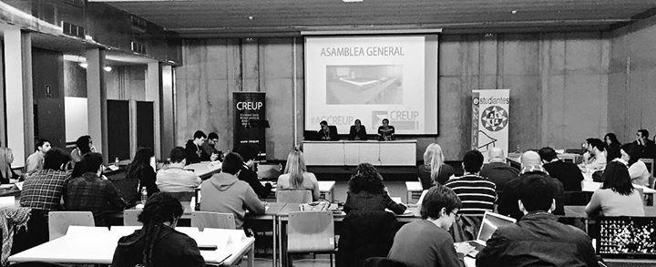Comienza La Asamblea General De CREUP En La Casa Del Estudiante