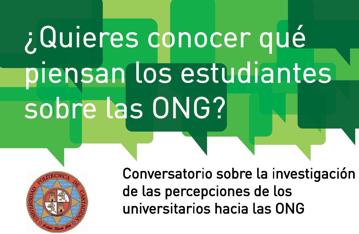 Charla: ¿Quieres Saber Que Piensan Los Estudiantes Sobre Las ONG?