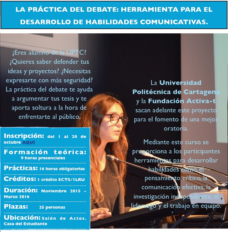 """Comienza El Taller De """"Práctica De Debate Escolar"""""""