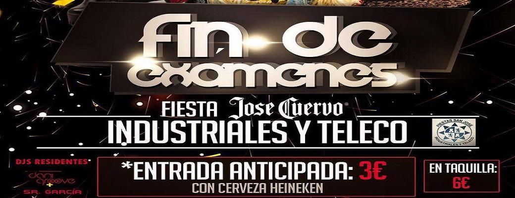 "Fiesta ""Fin De Exámenes"" UPCT"