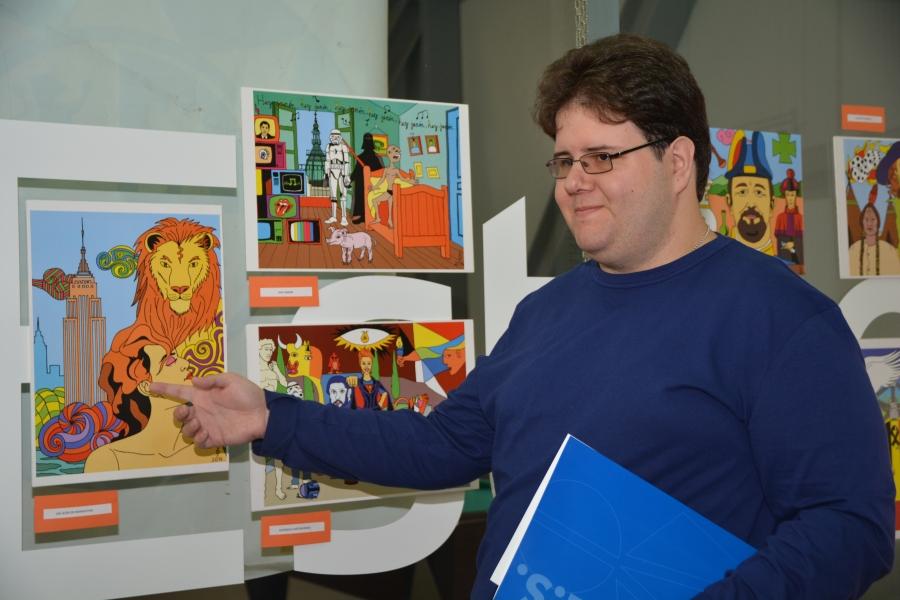La Casa del Estudiante acoge la muestra «La Magia del Surrealismo Pop» de Ápices