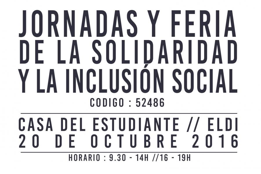 Feria De La Solidaridad Y La Inclusión, Este Jueves En La Casa Del Estudiante
