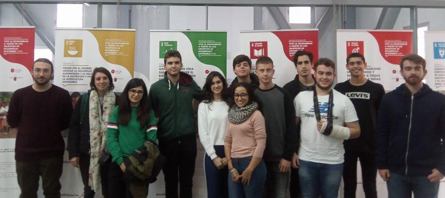 Exposición sobre los Objetivos de Desarrollo Sostenible (ODS) en la Casa del Estudiante