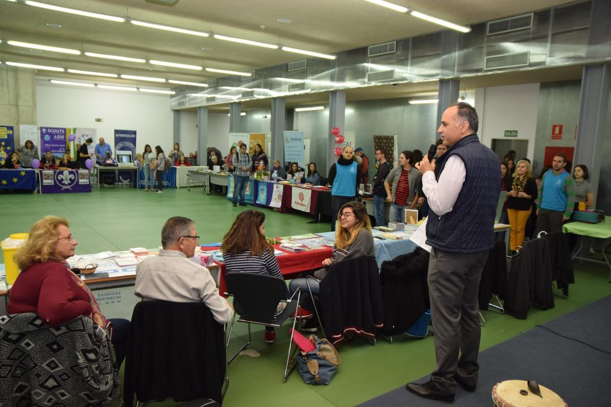 La Feria De Voluntariado Y Diversidad Reúne Hoy A 30 Entidades Sociales En La Casa Del Estudiante