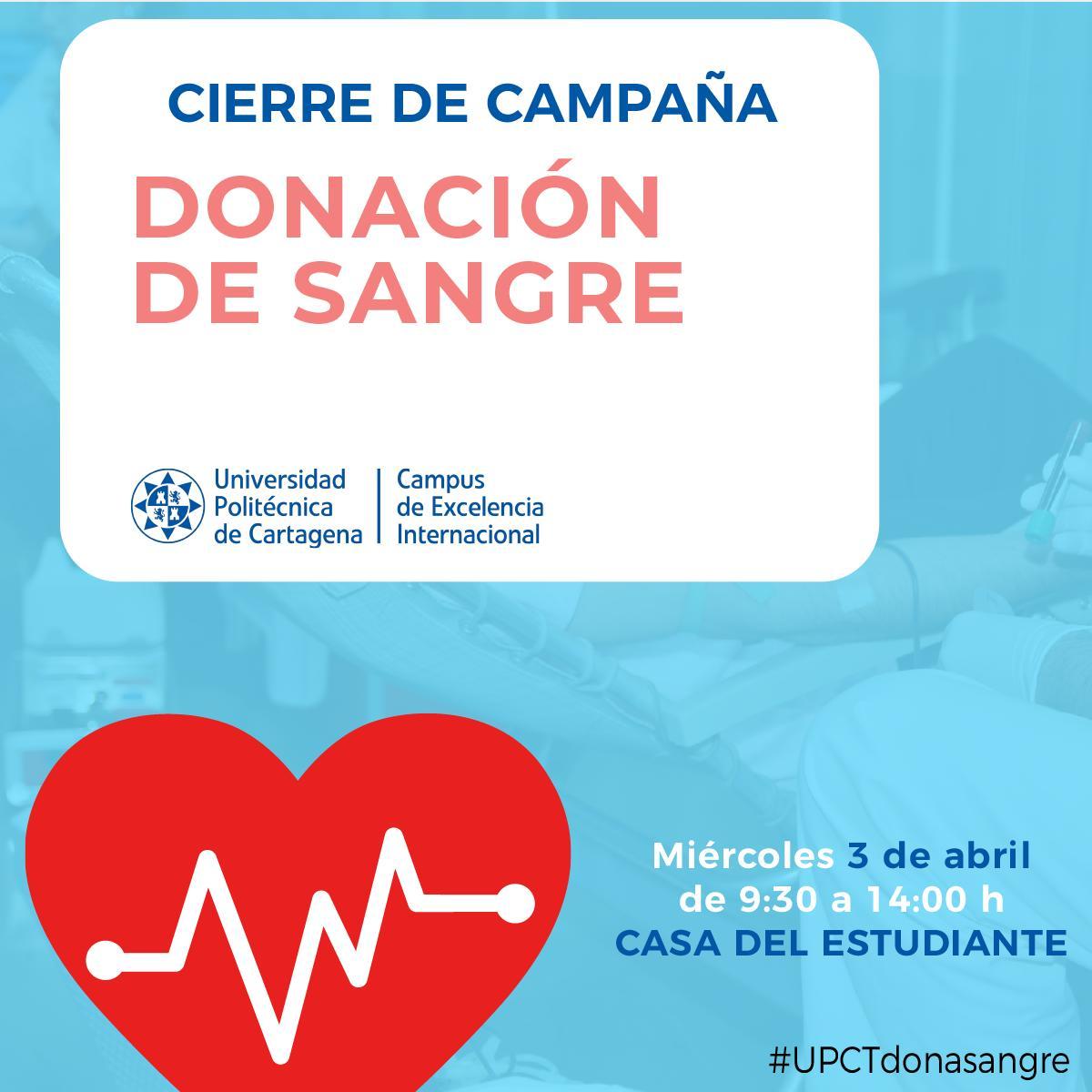 Cierre De Campaña Del Centro De Hemodonación En La Casa Del Estudiante