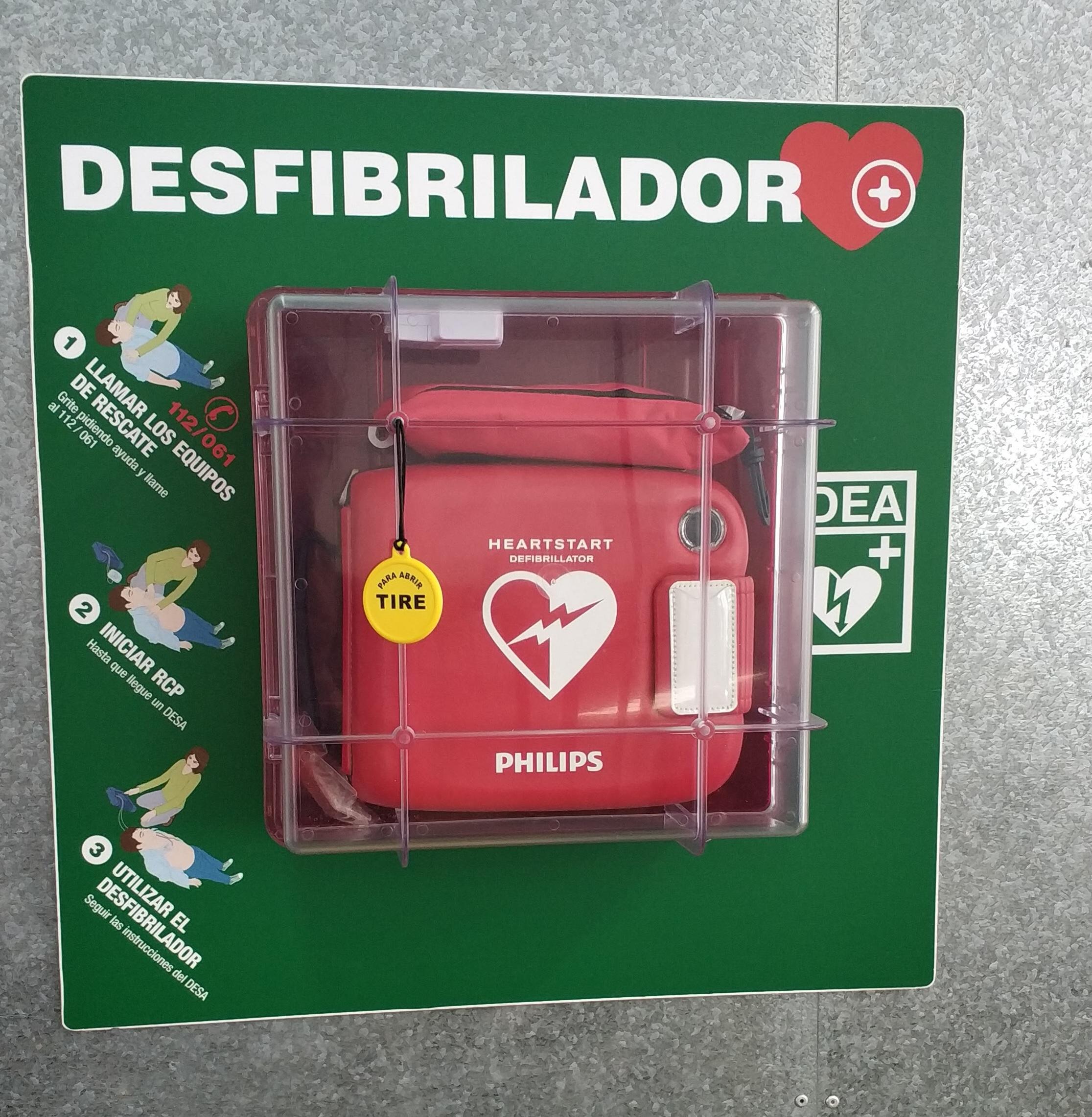 La Casa Del Estudiante, Espacio Cardioprotegido