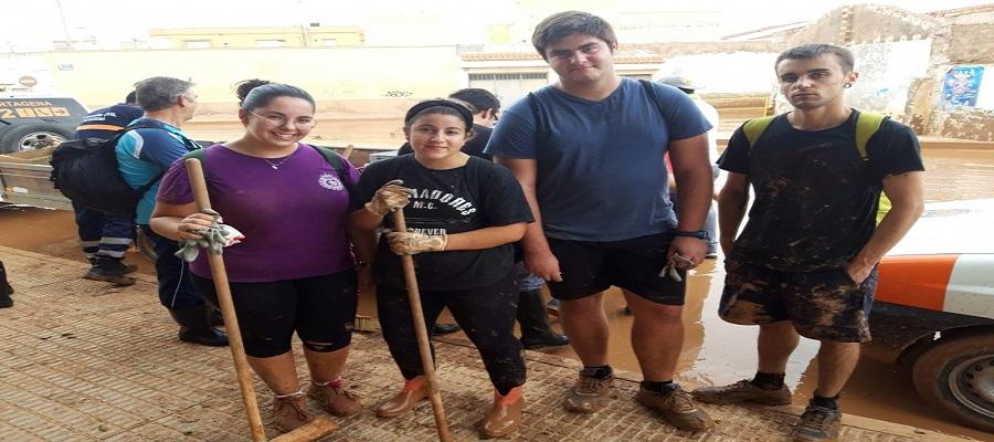 La UPCT Organiza Un Maratón Para Recoger Alimentos, Productos De Higiene Y Limpieza A Favor De Las Familias Afectadas Por DANA