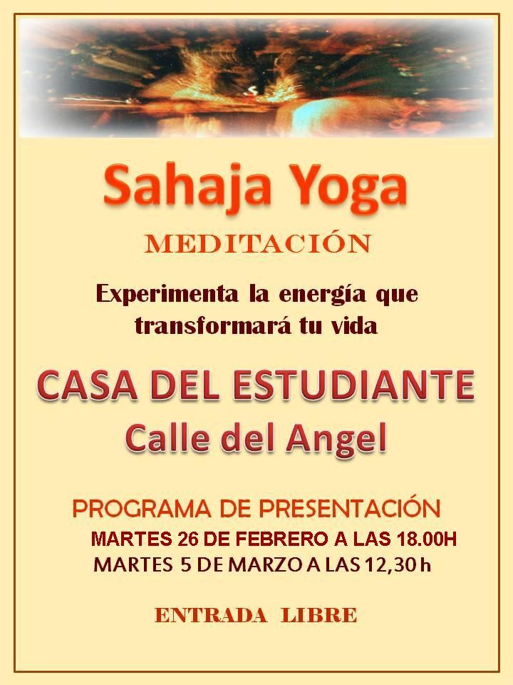 Sahaja yoga (meditación)